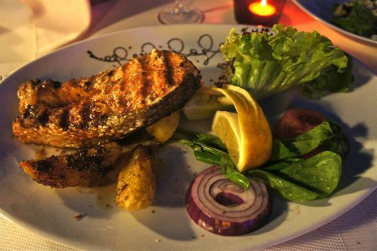 Jade Terrace Food & Drink: Sumptuous Salmon Steak