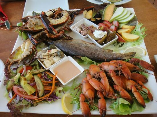 Nippers Cafe : Superb fresh produce