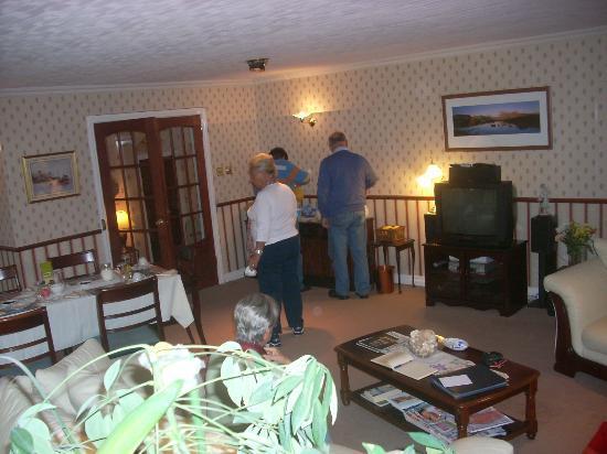 Breagha Lodge : sala colazione