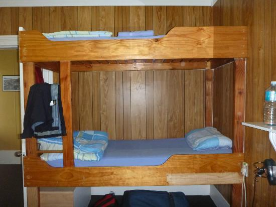 Sunkist Stay Bike n Hike: bunk beds that are so comfortable