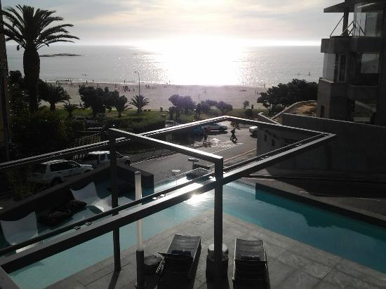 POD Camps Bay: View from our room just before sunset