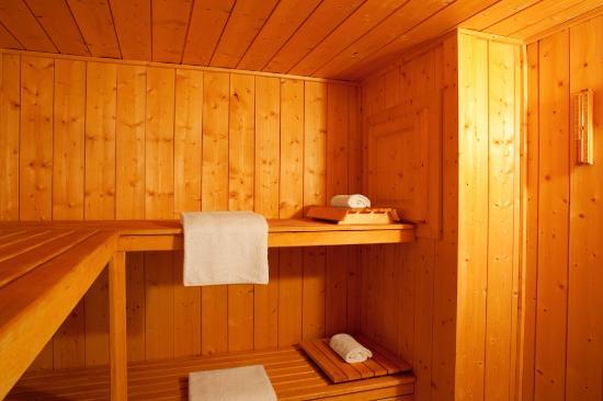 Marmotte Mountain Chalets: Sauna - Marmotte Mountain Hideaway