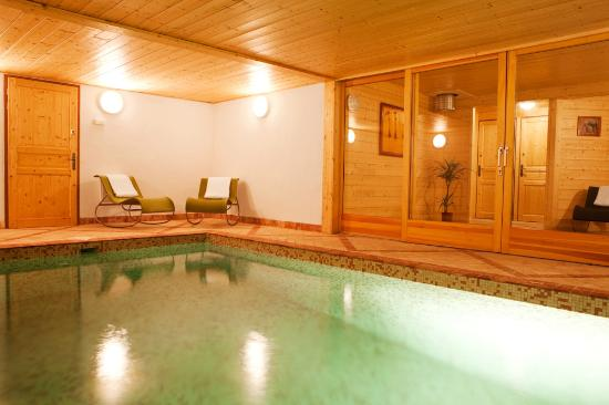 Marmotte Mountain Chalets: Swimming pool - Marmotte Mountain Hideaway