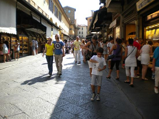 Ponte Vecchio: Sul ponte
