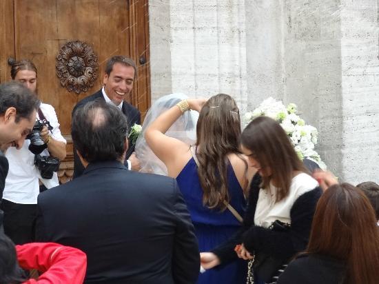 Il Duomo di Pienza: just married!