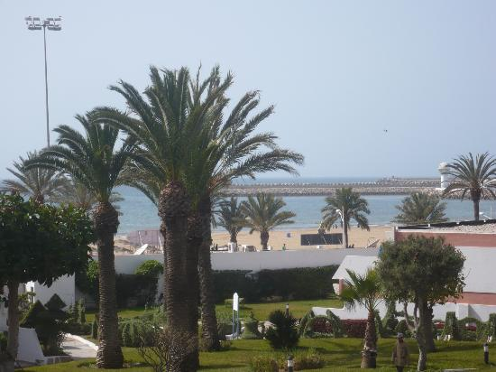 Hotel Club Al Moggar: Hotel Club All Moggar Garden Beach- Agadir- Mohamed V street