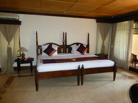 Kori Ubud Resort: KS bed
