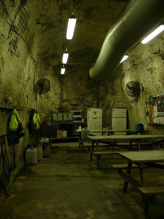Queenstown Heritage Tours: Lunch room