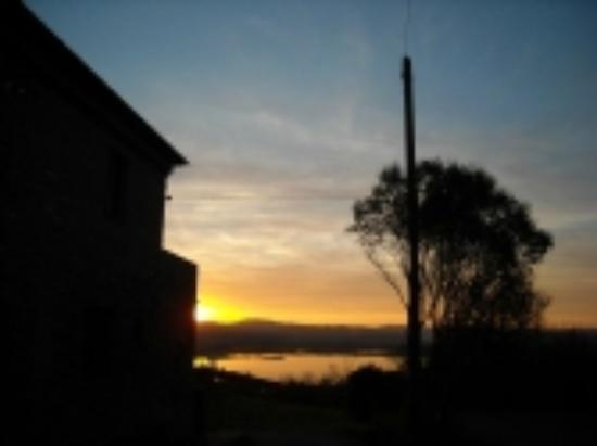 Il Macchione sunset