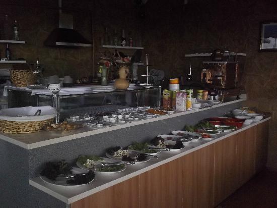 Sirma Sultan Hotel Istanbul: Desayuno tipo bufet