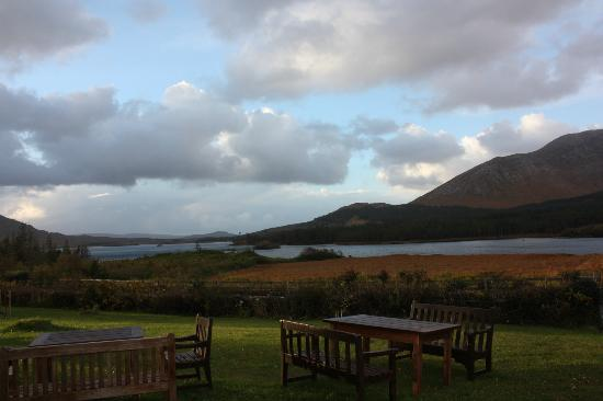 Lough Inagh Lodge: View from Lough Inagh