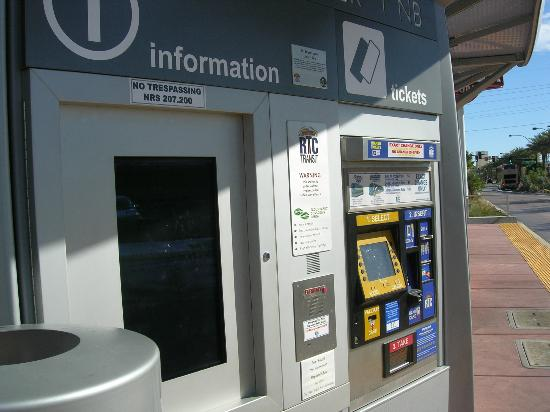ticket vending machine las vegas locations