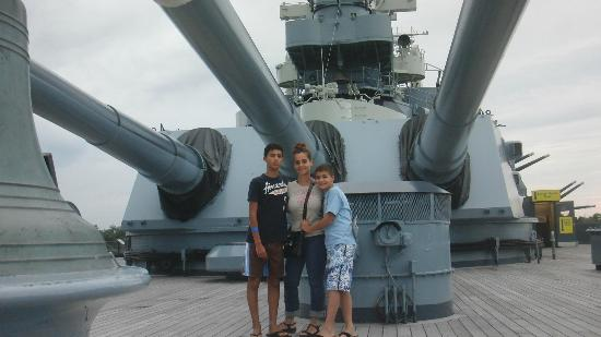 Battleship NORTH CAROLINA 사진