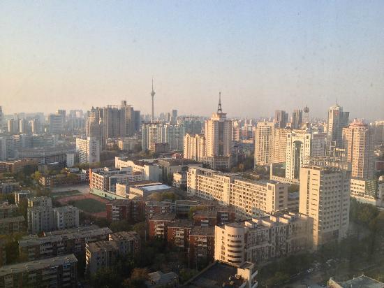 Hotel Nikko Tianjin: Tianjin view