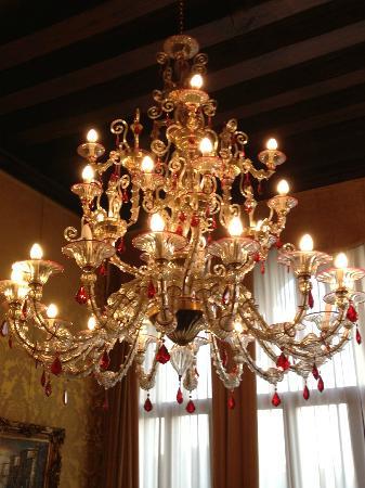 Hotel Pesaro Palace: nice decoraded