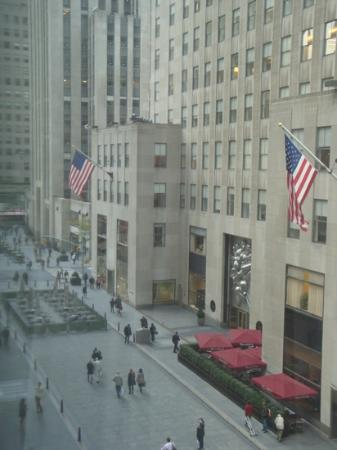 The Jewel Facing Rockefeller Center: view from 6th floor room