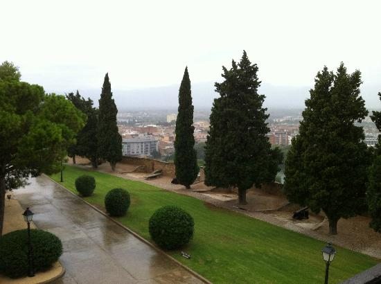 Parador de Tortosa: View from the balcony