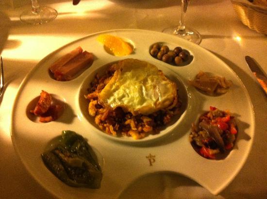 Parador de Tortosa: Traditional starter