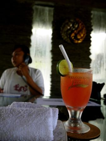 ‪‪Villa Mahapala‬: Welcome drink