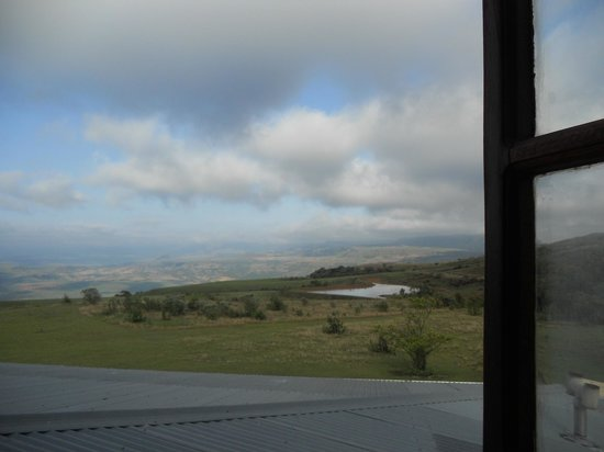 Drakensberg Mountain Retreat: view from our room