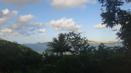 Coralview Island Resort: the view from the top of the hill