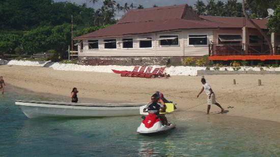 Coralview Island Resort: wake or knee boarding