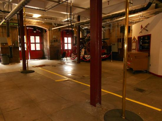 Interior of Historic Fire Station Picture of D C Fire and EMS