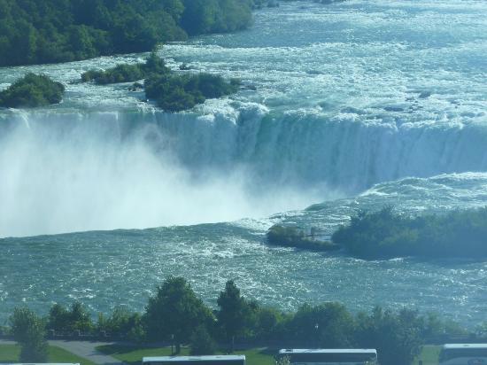 Niagara Falls Marriott Fallsview Hotel & Spa: view from window