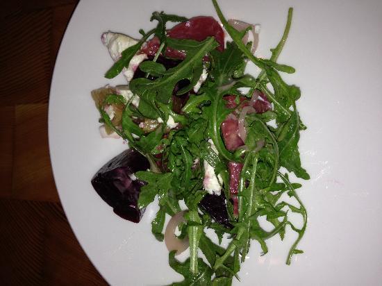 The Moss Room : Beet salad