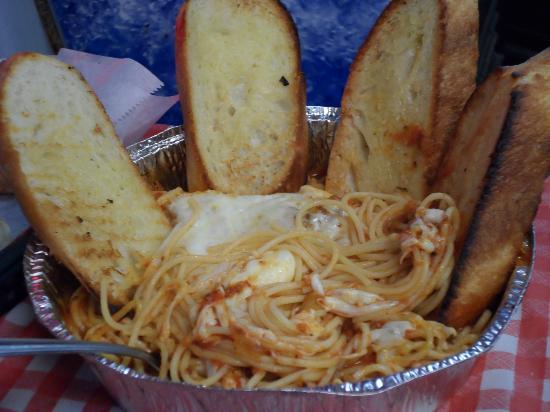 Fredi's Pizza & Pasta: Spaghetti Dinner