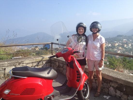 Vesparound in Italy: Unbeatable views...