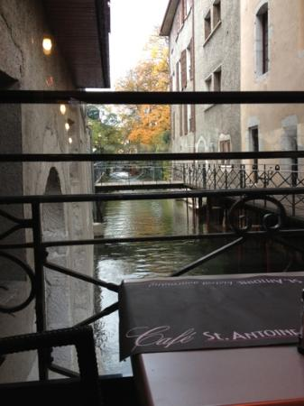 Cafe St. Antoine : jolie vue