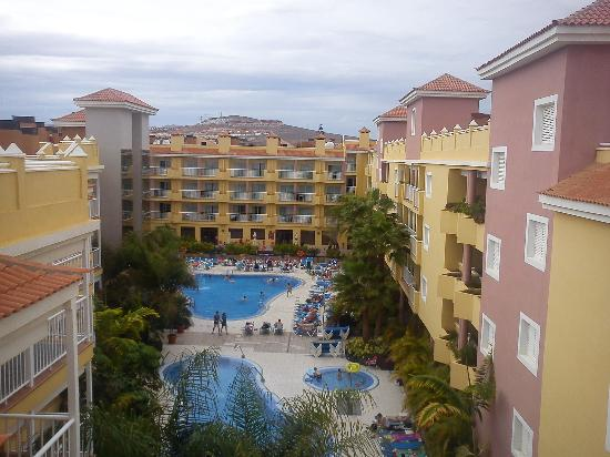Hotel Costa Caleta: view from the rooftop