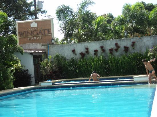 Swimming pool picture of tagaytay wingate manor - Hotels in chester with swimming pool ...