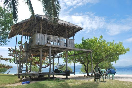 Banana Island: take time to relax here