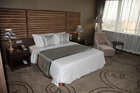 Kempinski Hotel Fleuve Congo: Room on 15th floor