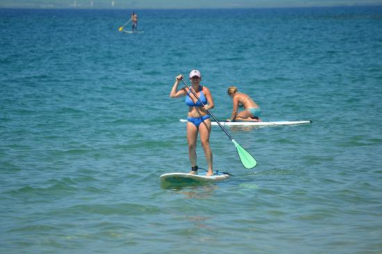 Four Seasons Resort Maui at Wailea: Stand-up Paddleboarding