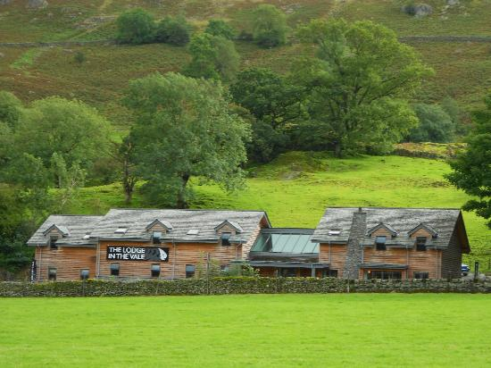 The Lodge in the Vale: hotel close up