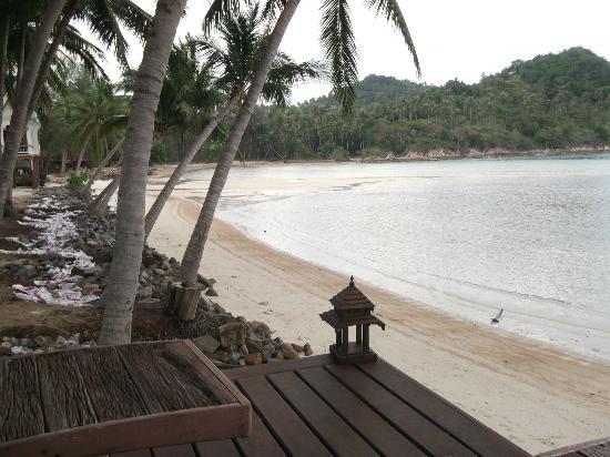 Chaloklum Bay Resort: veiw from pool