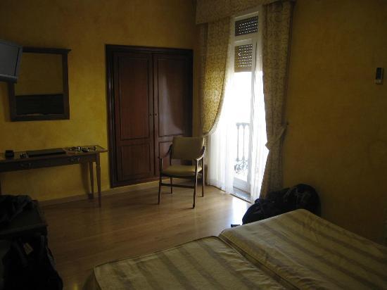Los Tilos: 3rd floor room