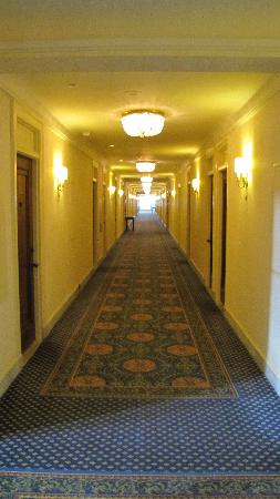 Fairmont Chateau Laurier: long hallway.