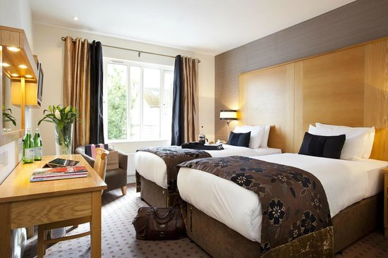 Tara Lodge: Twin bedded boutique hotel rooms