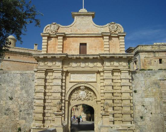 ‪‪Mdina Old City‬: Mdina - Main Gate