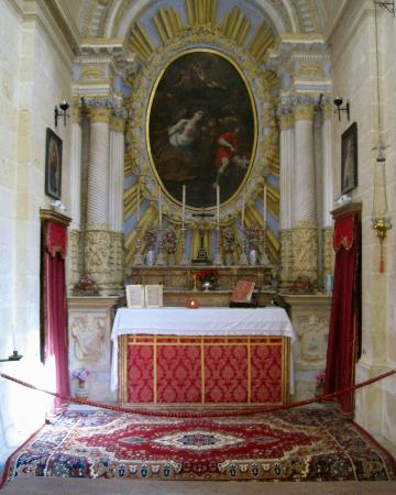 Mdina Old City: Mdina-St.Agatha's Chapel