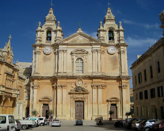 Mdina Old City: Mdina - Cathedral