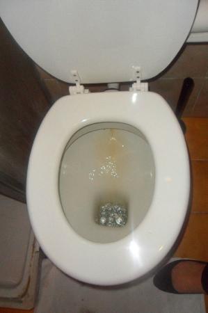 Hotel Erina: La toilette