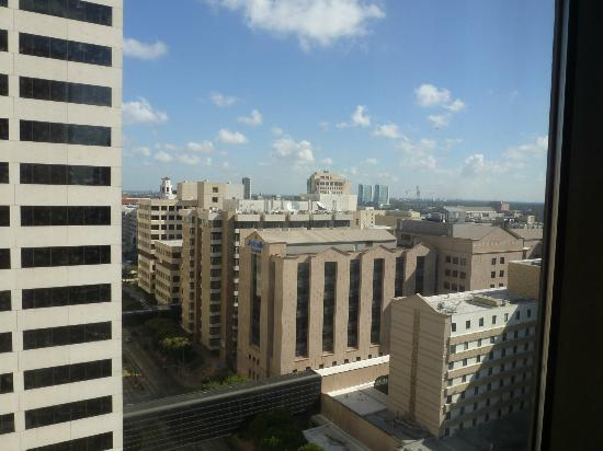 Houston Marriott Medical Center: uitzicht 19 de verdieping