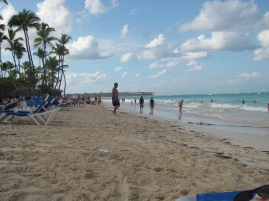 Barcelo Occidental Punta Cana: La plage 