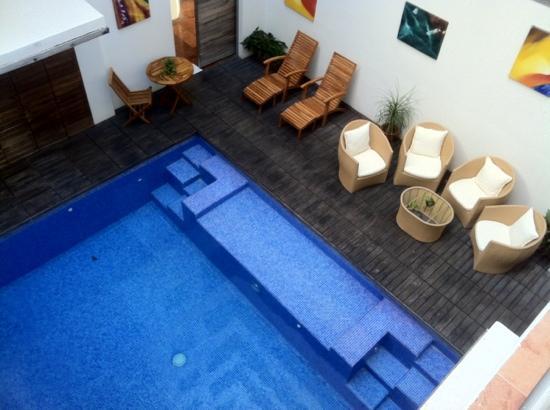 Hotel Bahia Chac Chi: hotel pool