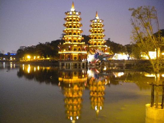 Dragon Tiger Tower: Dragon and Tiger Pagodas
